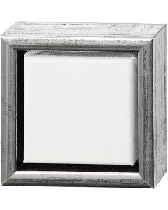 Tela ArtistLine con cornice, misura 14x14 cm, 360 g, bianco, 6 pz/ 1 conf.