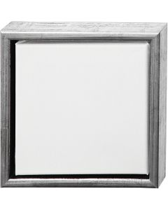 Tela ArtistLine con cornice, misura 24x24 cm, bianco, 6 pz/ 1 conf.