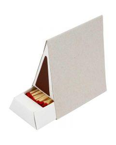 Scatola di fiammiferi, misura 8,5x5x9,5 cm, 10 pz/ 1 scat.