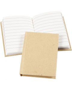Quaderno, A7, 60 g, marrone, 1 pz