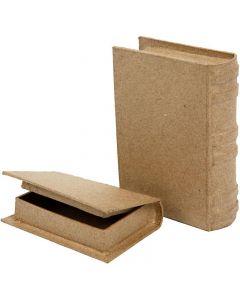 Libri, misura 8x11,5x2,5 cm, 2 pz/ 1 set