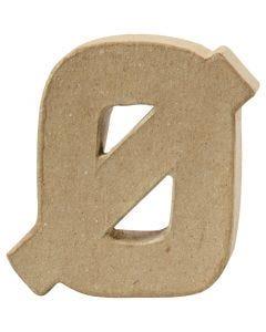 Lettera, Ø, H: 10 cm, spess. 2 cm, 1 pz