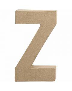 Lettera, Z, H: 20,2 cm, L: 11,2 cm, spess. 2,5 cm, 1 pz