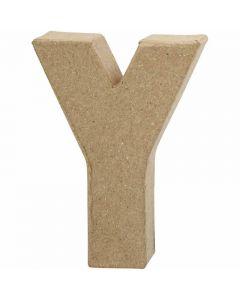 Lettera, Y, H: 10 cm, L: 7,9 cm, spess. 1,7 cm, 1 pz