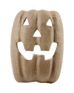 Maschera di Halloween, H: 21,5 cm, L: 17 cm, 1 pz