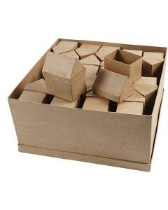 Casette, H: 10,5 cm, misura 6x8,5 cm, 40 pz/ 1 conf.