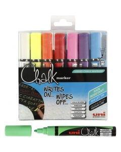 Chalk Pen, ampiezza tratto 1,8-2,5 mm, 8 pz/ 1 conf.