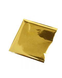 Alluminio per arti creative, 10x10 cm, oro, 30 fgl./ 1 conf.