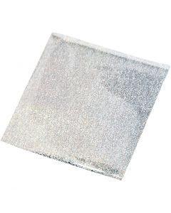 Alluminio per arti creative, 10x10 cm, argento, 30 fgl./ 1 conf.