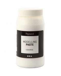 Impasto pigmentato modellabile, ruvido, 500 ml/ 1 vasch.