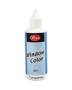 Colore per vetro, transparent, 80 ml/ 1 bott.