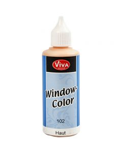 Colore per vetro, rosa chiaro, 80 ml/ 1 bott.