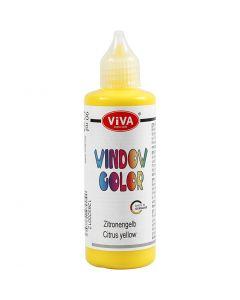 Colore per vetro, giallo, 90 ml/ 1 bott.