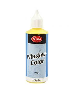 Colore per vetro, giallo, 80 ml/ 1 bott.