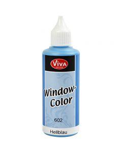 Colore per vetro, azzurro, 80 ml/ 1 bott.