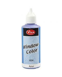 Colore per vetro, Azure, 80 ml/ 1 bott.