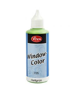 Colore per vetro, verde chiaro, 80 ml/ 1 bott.