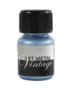 Vernice hobby metallizzata, pearl blue, 30 ml/ 1 bott.