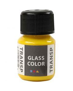 Colore trasparente per vetro, giallo limone, 30 ml/ 1 bott.