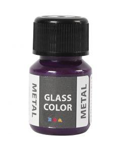 Colore metallico per vetro, viola, 30 ml/ 1 bott.
