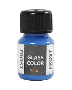 Colore satinato per vetro, blu, 30 ml/ 1 bott.