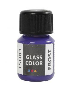 Colore satinato per vetro, violetto, 30 ml/ 1 bott.