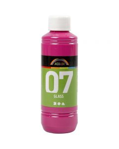 A-Color Glass , rosa, 250 ml/ 1 bott.
