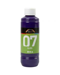 A-Color Glass , rosso viola, 250 ml/ 1 bott.