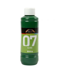 A-Color Glass , verde brillante, 250 ml/ 1 bott.