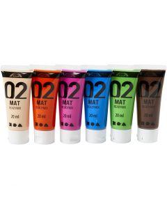 A-Color pronta da mischiare, opaco, colore aggiuntivo, 6x20 ml/ 1 conf.