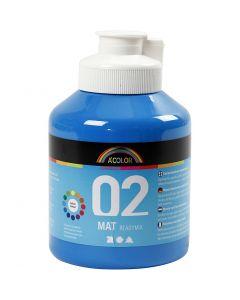 A-Color pronta da mischiare, opaco, blu primario, 500 ml/ 1 bott.