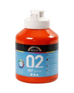 A-Color pronta da mischiare, dim. 02, opaco, arancio, 500 ml/ 1 bott.