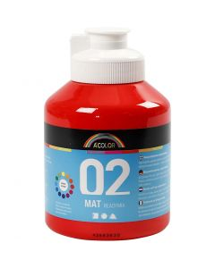 A-Color pronta da mischiare, opaco, rosso, 500 ml/ 1 bott.