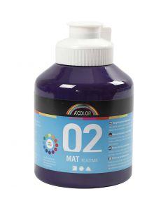 A-Color pronta da mischiare, opaco, violetto, 500 ml/ 1 bott.