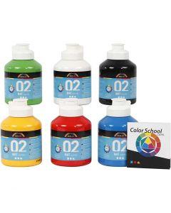 A-Color pronta da mischiare, opaco, colore primario, 6x500 ml/ 1 conf.