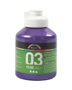A-Color pittura acrilica, metallico, violetto, 500 ml/ 1 bott.