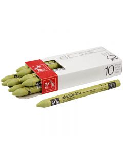Neocolor I Pastelli, L: 10 cm, spess. 8 mm, light olive (245), 10 pz/ 1 conf.