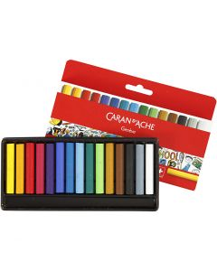 Neocolor I Pastelli, L: 5 cm, spess. 8 mm, colori asst., 15 pz/ 1 conf.