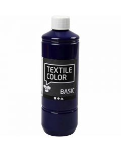 Colore per tessuti, blu brillante, 500 ml/ 1 bott.