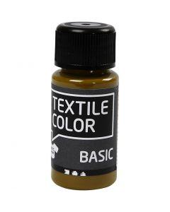 Colore per tessuti, oliva-marrone, 50 ml/ 1 bott.
