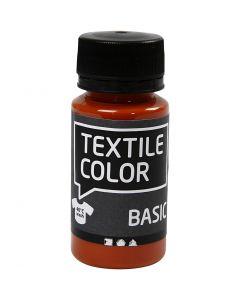 Colore per tessuti, mattone, 50 ml/ 1 bott.
