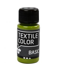 Colore per tessuti, kiwi, 50 ml/ 1 bott.