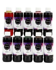 Acquerello liquido, 10x250 ml/ 1 conf.