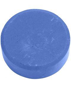 Acquerelli, H: 16 mm, diam: 44 mm, blu, 6 pz/ 1 conf.