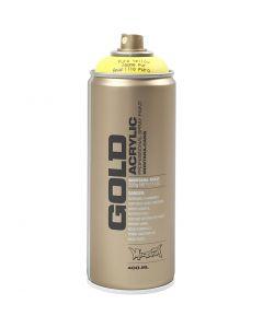 Vernice spray, giallo, 400 ml/ 1 vasch.