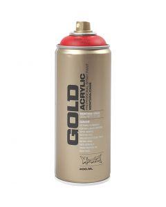 Vernice spray, rosso, 400 ml/ 1 vasch.