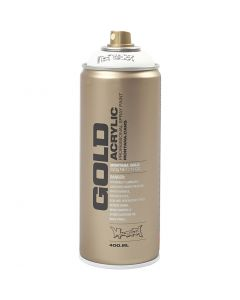 Vernice spray, bianco, 400 ml/ 1 vasch.