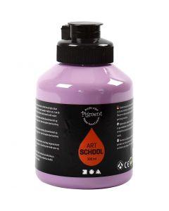 Pittura Pigment Art School, opaca, viola, 500 ml/ 1 bott.