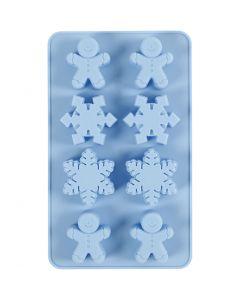 Stampo in silicone, H: 2,5 cm, L: 24 cm, L: 14 cm, misura buco 30x45 mm, 12,5 ml, 1 pz/ 1 conf.