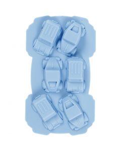 Stampo in silicone, macchine, misura buco 30x45 mm, 12,5 ml, 1 pz